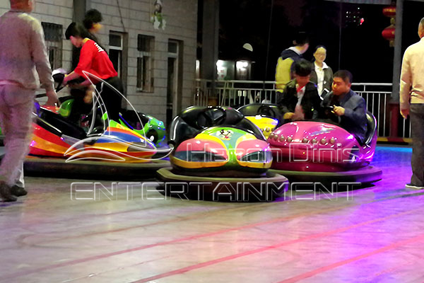 Electric Ground Gride Bumper Car for Sale
