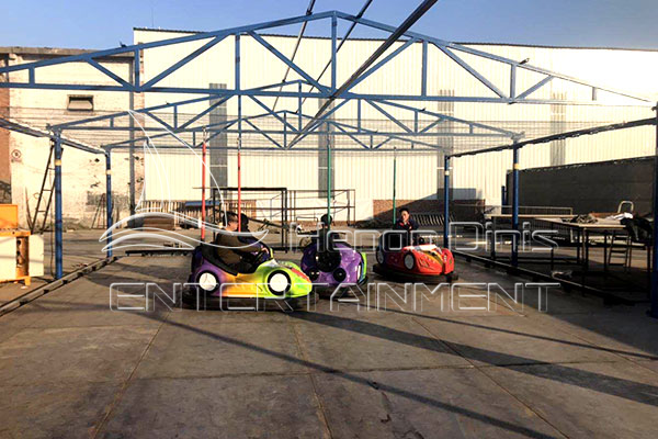hot sale over head system electric dodgems for sale