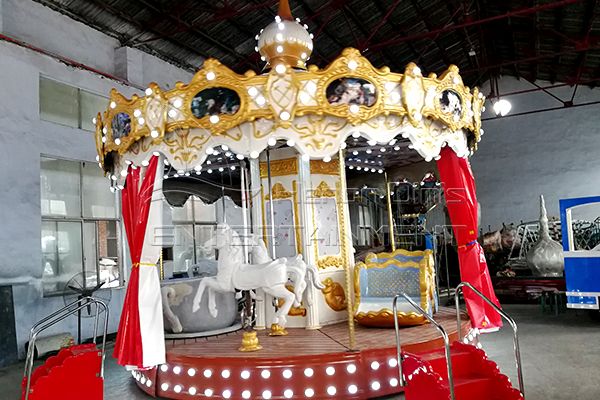 Purchase Vintage Carousel Fair Amusement Rides at a Gold Price from Dinis