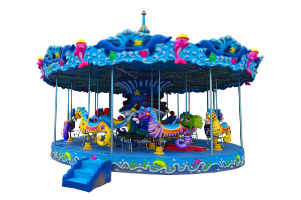 new marine themed merry go round ride for sale